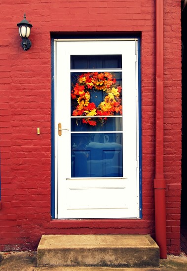 fall door by blueberry1222