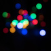 Christmas lights bokeh still #2
