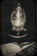 22nd Nov 2017 - reading by lamplight