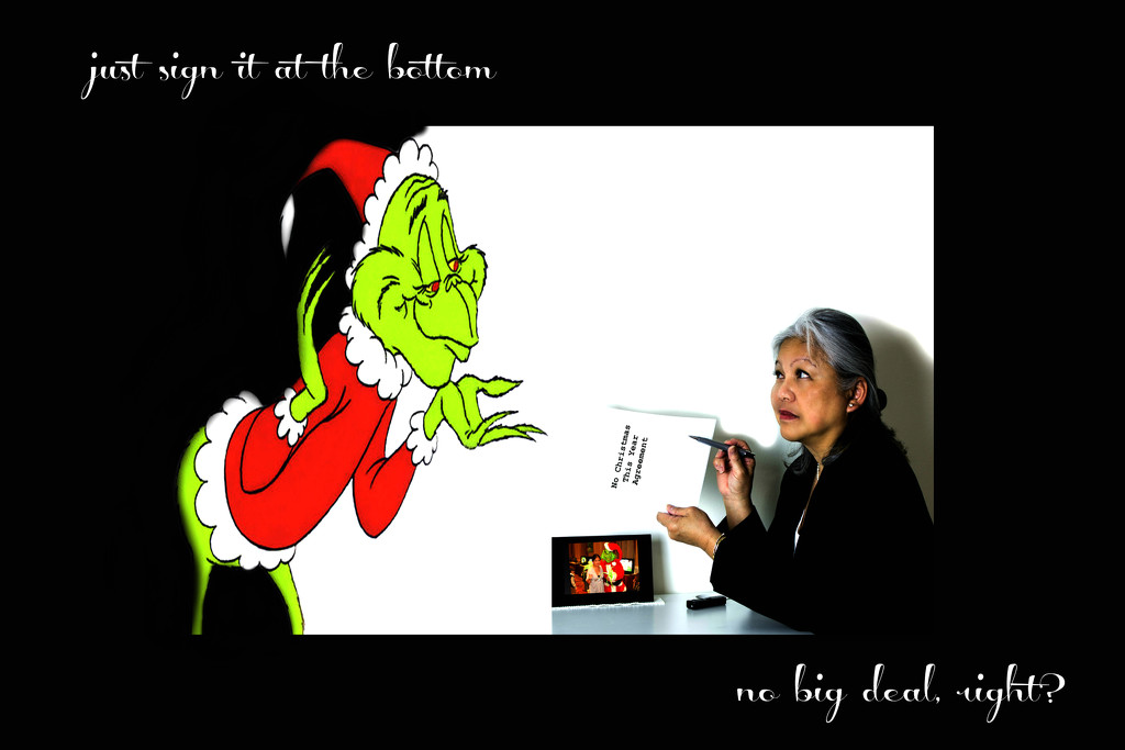 pact with the devil, er...the grinch by summerfield