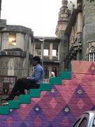 23rd Nov 2017 - The Kalaghoda steps. Fort. Mumbai