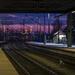 The railway station by haskar