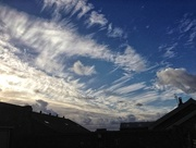 27th Nov 2017 - Winter clouds.