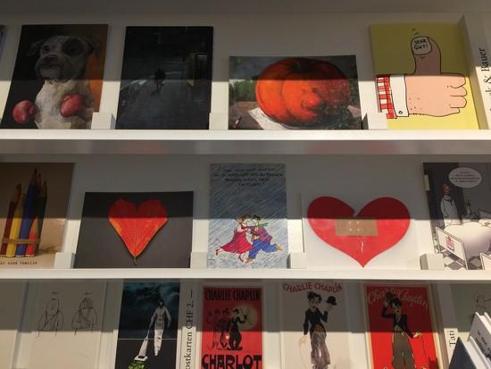 Hearts on postcards.  by cocobella