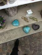 27th Nov 2017 - 2 blue hearts and 1 black.