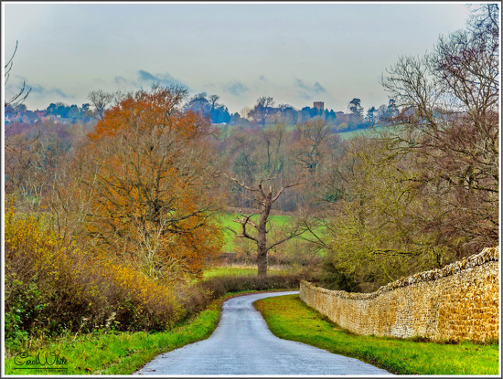 The Road From Althorpe To Great Brington by carolmw