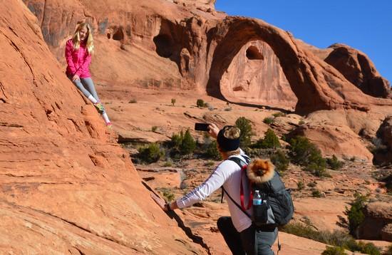 Corona Arch photo opp by bigdad