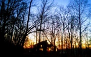 30th Nov 2017 - Sunset at the Cabin