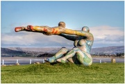1st Dec 2017 - The Venus and Cupid statue at Morecambe