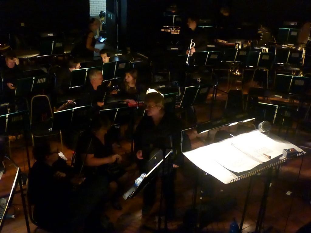 Orchestra Pit by 30pics4jackiesdiamond
