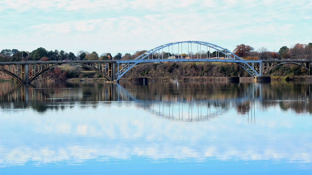 The River Bridge  by milaniet