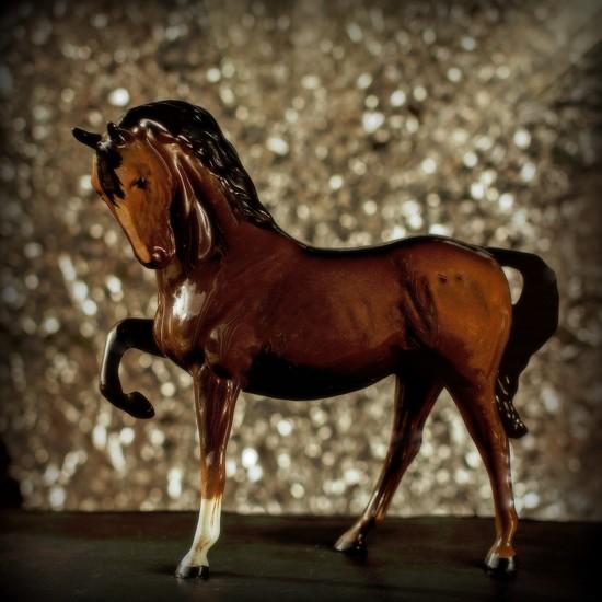 Bokeh Horse by farmreporter