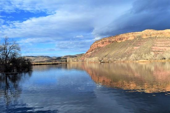 Watson Lake Rimrock by sandlily