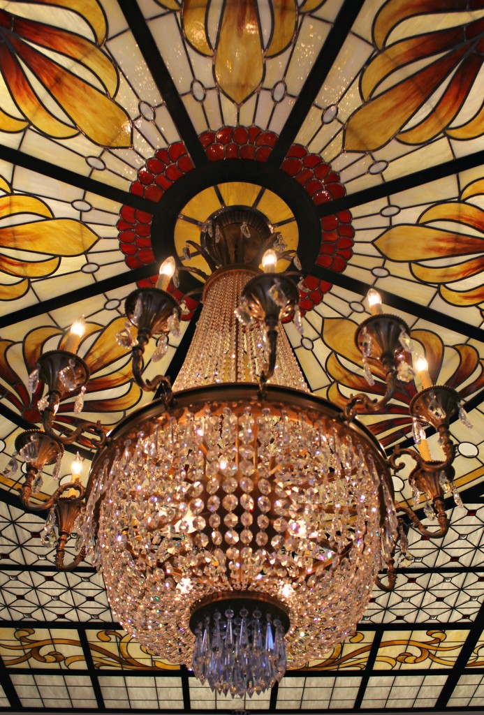 Crystal Chandelier by harbie