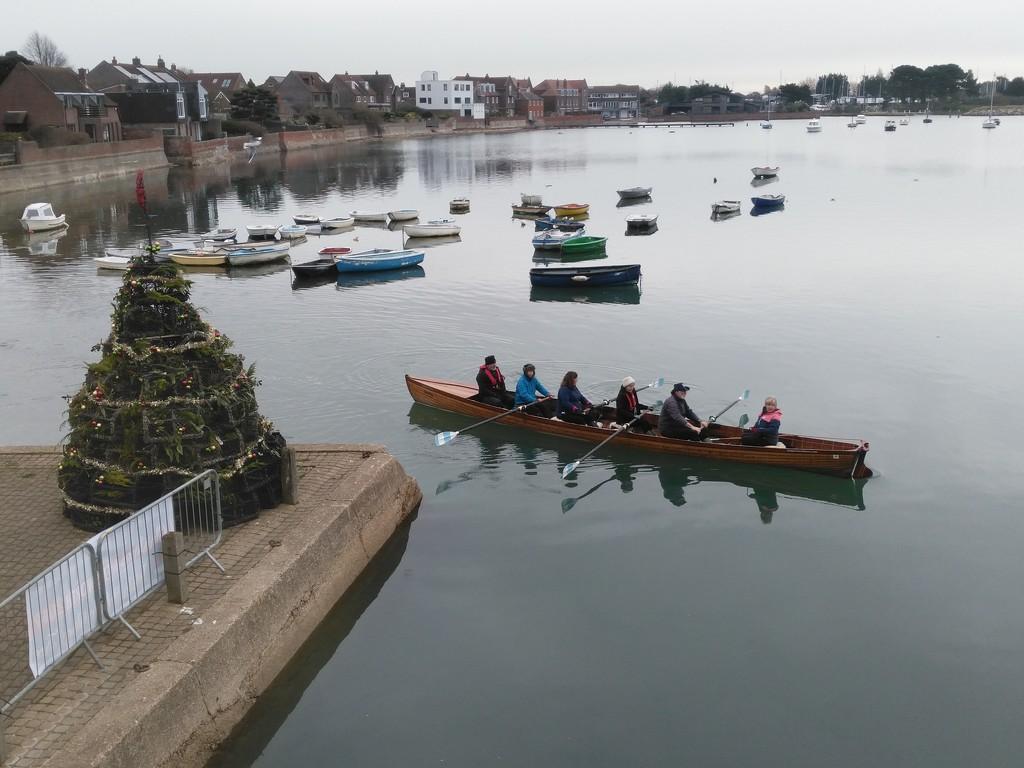 Ready to row. by jmdspeedy