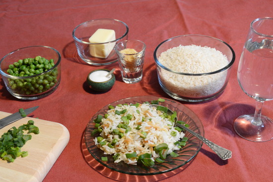 Rice with peas by francoise