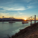 Carquinez Bridge Sundown