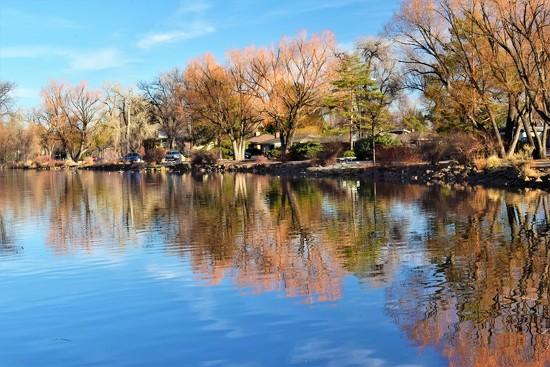Sheldon Lake at City Park by sandlily