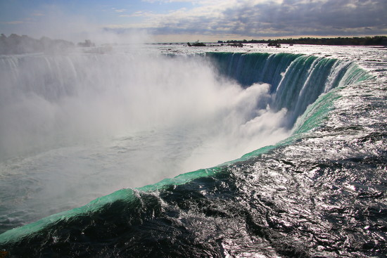 Over the Falls by terryliv