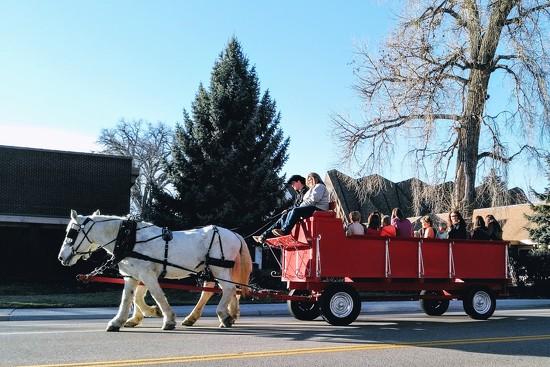 Wagon ride by sandlily