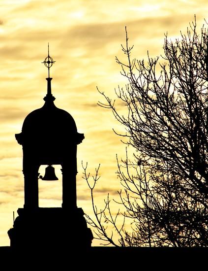 School Bell Tower by casablanca