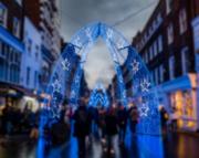 2nd Dec 2017 - through the blue arch