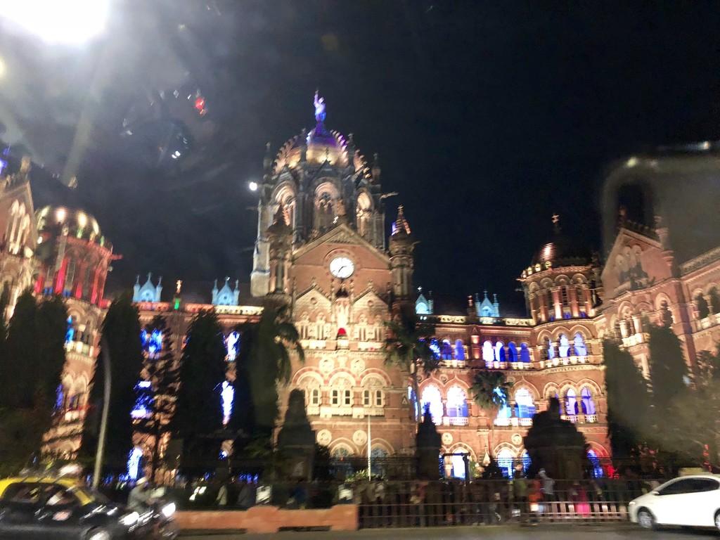 Chatrapati Shivaji TrainTerminus (Victoria Terminus ) by veengupta
