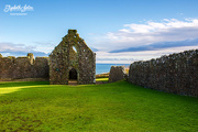 5th Dec 2017 - Church ruins at Dunnottar Castle
