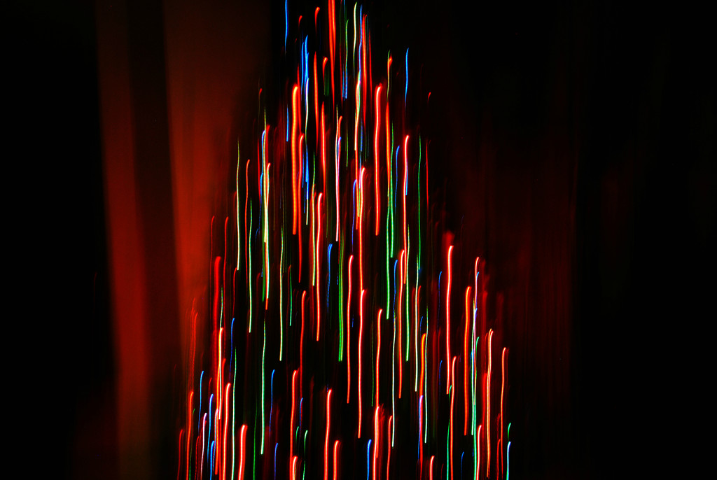 ICM (Intentional ChristmasTree Movement:) by alophoto