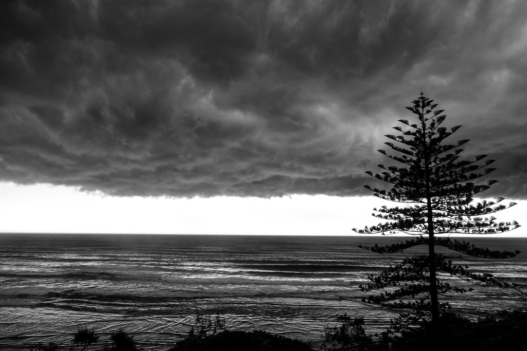 storm over Coolum Beach by hrs