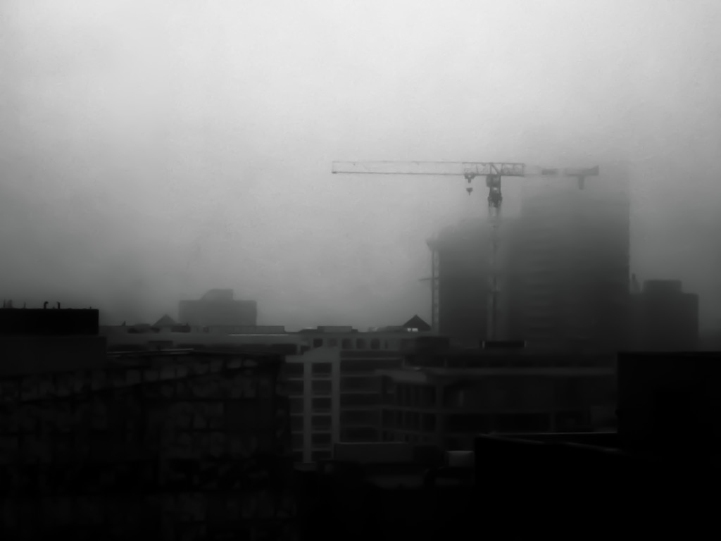 ghost crane... by northy