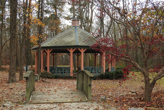 Autumn Gazebo by homeschoolmom