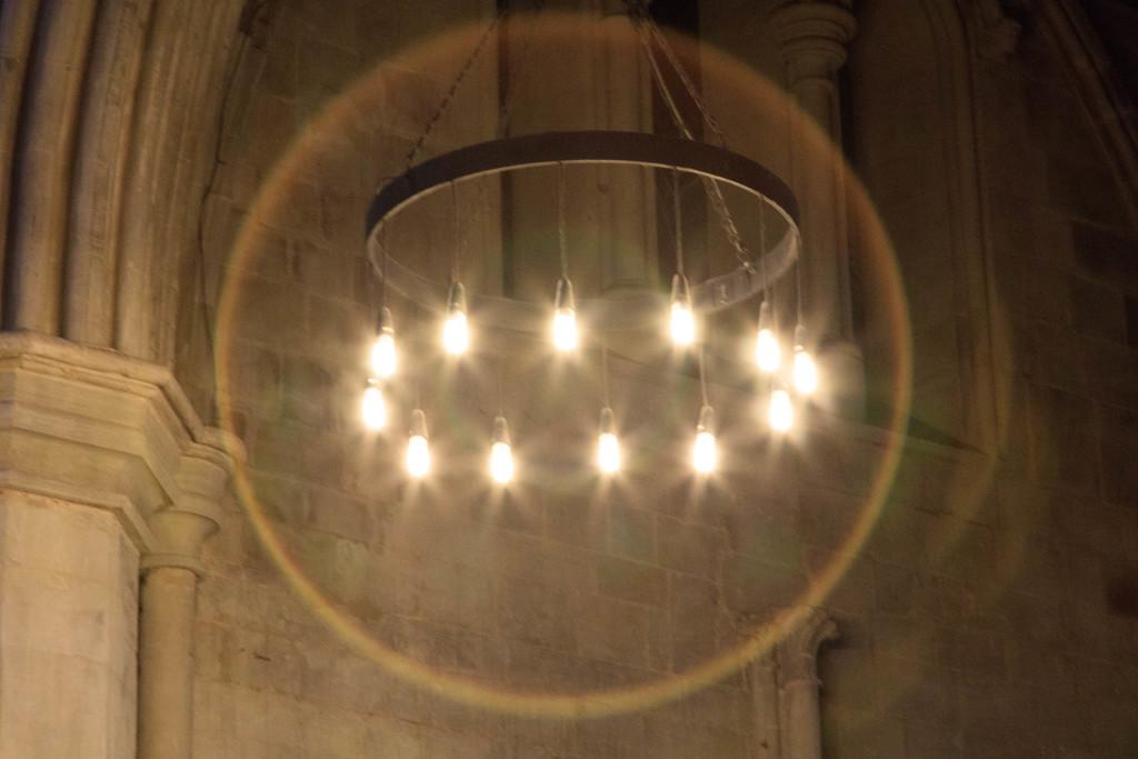 Ring of light by padlock