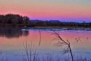 6th Dec 2017 - Sunrise at Riverbend Ponds