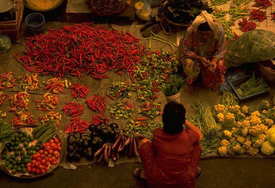 68 Vegetable Market in Malaysia by travel