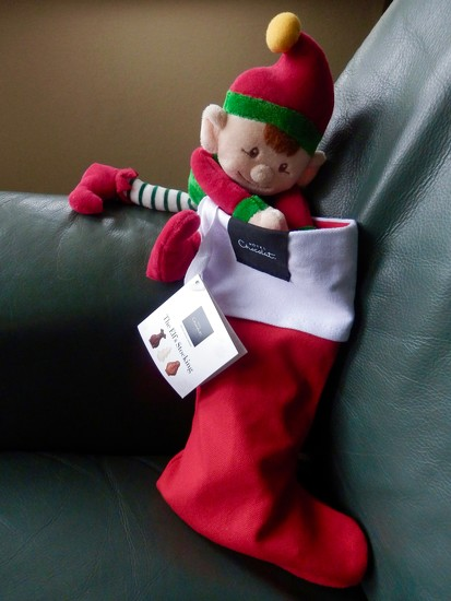 Not The Elf's Stocking! by casablanca