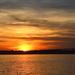 Sunset over the Ashley River, Charleston, SC