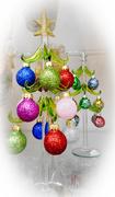 9th Dec 2017 - Pretty little ornament trees