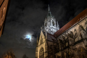 9th Dec 2017 - The Moon and the Steeple