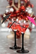 11th Dec 2017 - Christmas Cocktails and bokeh