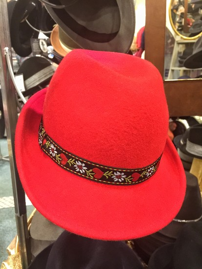 Hearts on hat. by cocobella