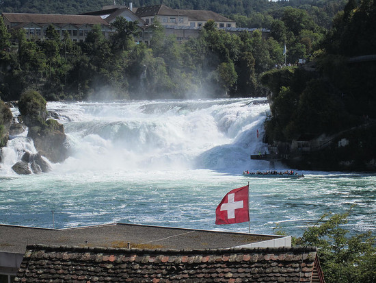 70 Rhine Falls in Switzerland by travel