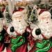Santas for Sale.