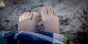 12th Dec 2017 - Sandy Toes