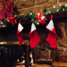 And the stockings were hung by the chimney with care