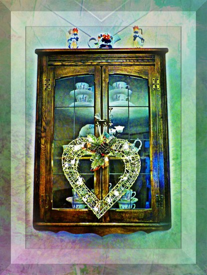 Christmas Heart  by beryl