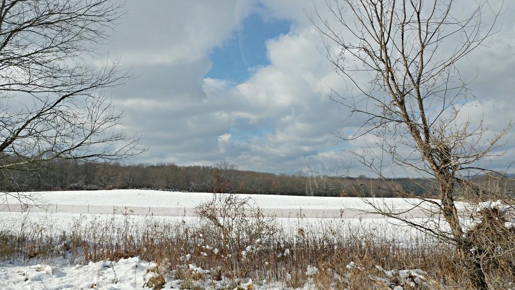 Snowy Fields  by jo38
