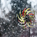 Whirligig in the snow storm! by fayefaye