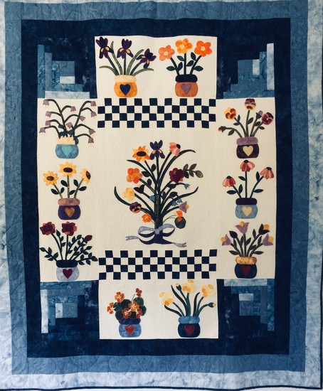 My dear friend made this beautiful quilt  by Dawn