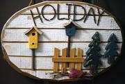 12th Dec 2017 - Holiday Plaque